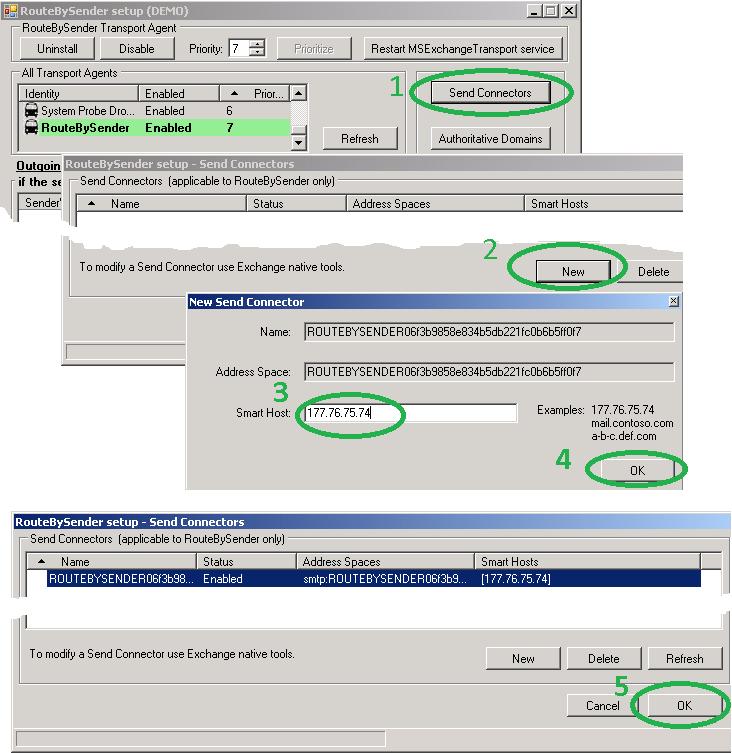 IvaSoft - RouteBySender for Microsoft Exchange 2013/2016/2019